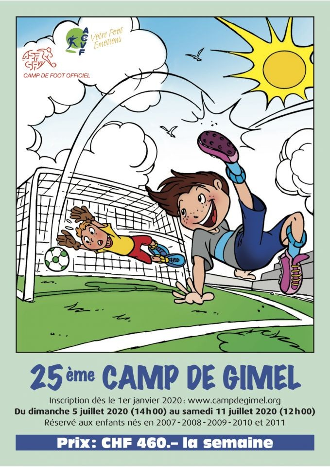 Camp de Gimel - édition 2020